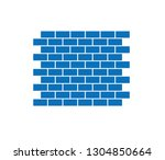 brick construction wall icon  ...   Shutterstock .eps vector #1304850664