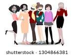 vector happy international ...   Shutterstock .eps vector #1304866381