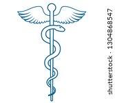 medical or healthcare symbol  ... | Shutterstock .eps vector #1304868547
