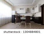 beautiful interior apartment...   Shutterstock . vector #1304884801