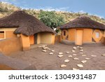 African Round Huts Rondavels...