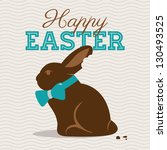 Happy Easter Card Illustration...