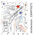 vector illustration. rock... | Shutterstock .eps vector #1304976271