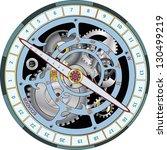 astrolabe cartoon | Shutterstock .eps vector #130499219