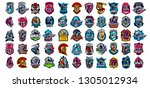 collection of emblems of...