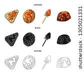 vector design of confectionery... | Shutterstock .eps vector #1305021331