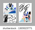 collection of creative... | Shutterstock .eps vector #1305025771