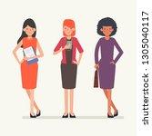 business people teamwork... | Shutterstock .eps vector #1305040117