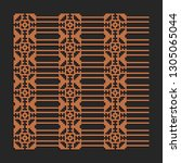 laser cutting interior panel.... | Shutterstock .eps vector #1305065044