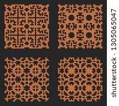 laser cutting interior panel... | Shutterstock .eps vector #1305065047