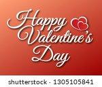 vector lettering design for... | Shutterstock .eps vector #1305105841