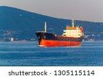oil tanker in a sea | Shutterstock . vector #1305115114