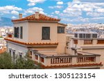 athens  greece   july 20  2018  ... | Shutterstock . vector #1305123154