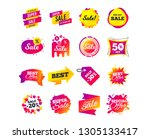 sale banner templates design.... | Shutterstock .eps vector #1305133417