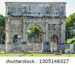 rome  italy   september 2018 ... | Shutterstock . vector #1305148327