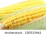 corn on a white background | Shutterstock . vector #130515461