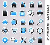 stickers set  web