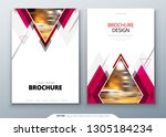 brochure template layout design.... | Shutterstock .eps vector #1305184234