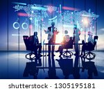 business illustration concept | Shutterstock . vector #1305195181