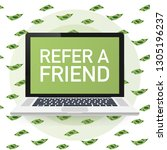 refer a friend concept. can use ...