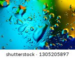 colorful abstract background.... | Shutterstock . vector #1305205897