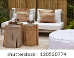 image of a cozy seating area in ... | Shutterstock . vector #130520774
