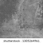 halftone backgrounds in black... | Shutterstock .eps vector #1305264961