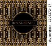 luxury premium background with... | Shutterstock .eps vector #1305272437