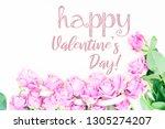 valentines day violet roses   Shutterstock . vector #1305274207
