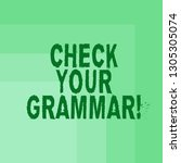 word writing text check your... | Shutterstock . vector #1305305074