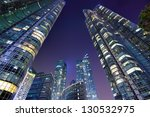 Modern cityscape of Busan, South Korea. - stock photo