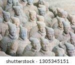 terracotta army sculptures in... | Shutterstock . vector #1305345151