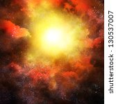 Illustration Of Space With...