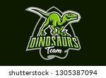 the emblem of an aggressive...   Shutterstock .eps vector #1305387094