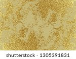 gold grunge texture to create... | Shutterstock .eps vector #1305391831