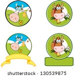 agriculture,animal,background,banner,beauty,beef,bell,brown,calf,cartoon,cattle,circle logo,collection,cow,cute