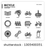 bicycle icon for website ... | Shutterstock .eps vector #1305400351