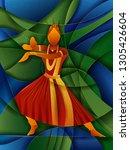 vector design of woman... | Shutterstock .eps vector #1305426604