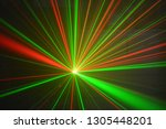 Laser Light Show Red And Green...