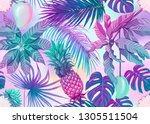 seamless pattern  background... | Shutterstock .eps vector #1305511504