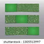 vector horizontal party ... | Shutterstock .eps vector #1305513997