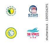 sports logo design   Shutterstock .eps vector #1305526291