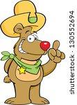 cartoon illustration of a bear... | Shutterstock .eps vector #130552694