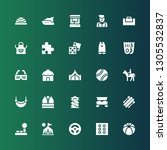 leisure icon set. collection of ... | Shutterstock .eps vector #1305532837