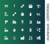heavy icon set. collection of... | Shutterstock .eps vector #1305534361