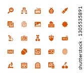 macro icon set. collection of... | Shutterstock .eps vector #1305535891