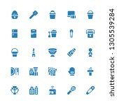household icon set. collection... | Shutterstock .eps vector #1305539284