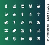 newborn icon set. collection of ... | Shutterstock .eps vector #1305541231
