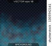 bright vector cloudiness  mist... | Shutterstock .eps vector #1305542161