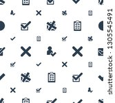 choose icons pattern seamless... | Shutterstock .eps vector #1305545491